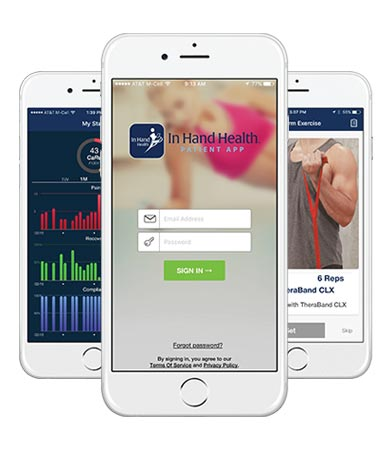 In Hand Health Patient App